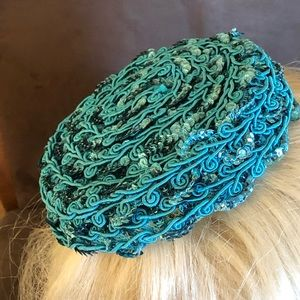 Evelyn Varon Festive Spring Hat / Topper 1950's